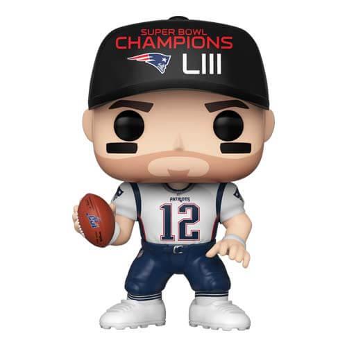 NFL Patriots Tom Brady Pop! Vinyl Figur