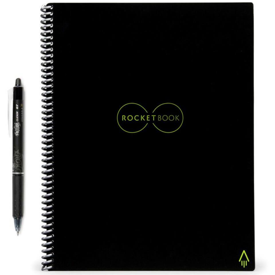 Ausgefallengadgets - Rocketbook Everlast Smart Reusable Notebook A4 - Onlineshop Sowas Will Ich Auch