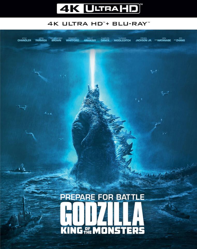 Godzilla King Of The Monsters 4k Ultra Hd Blu Ray Zavvi