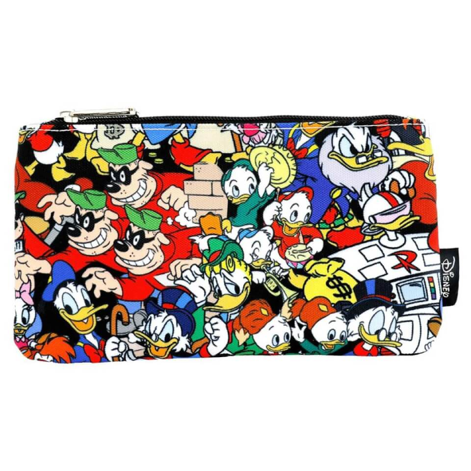 Disney Loungefly Duck Tales Characters AOP Pencil Case