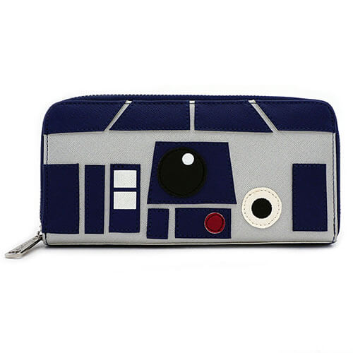 Nützlichfanartikel - Loungefly Star Wars R2D2 Faux Leather Wallet - Onlineshop Sowas Will Ich Auch