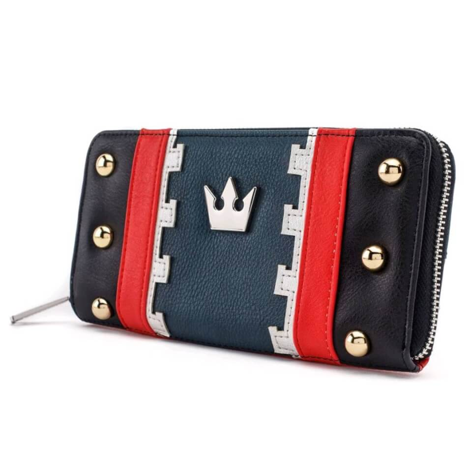 Disney Loungefly Kingdom Hearts 3 Sora Zip Around Wallet