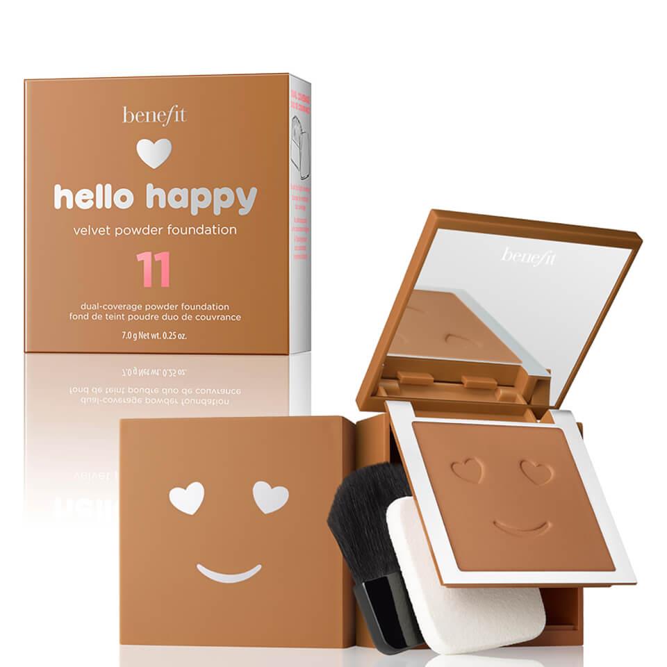 benefit Hello Happy Velvet Powder Foundation (Various Shades) - Shade 11