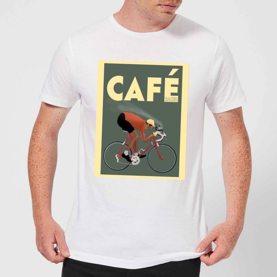 Mark Fairhurst Cafe Racer Men's T-Shirt - White | Jerseys