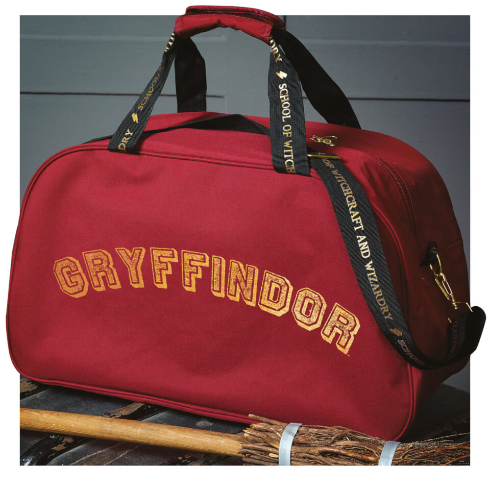 Hogwarts Quidditch Holdall Bag - Red