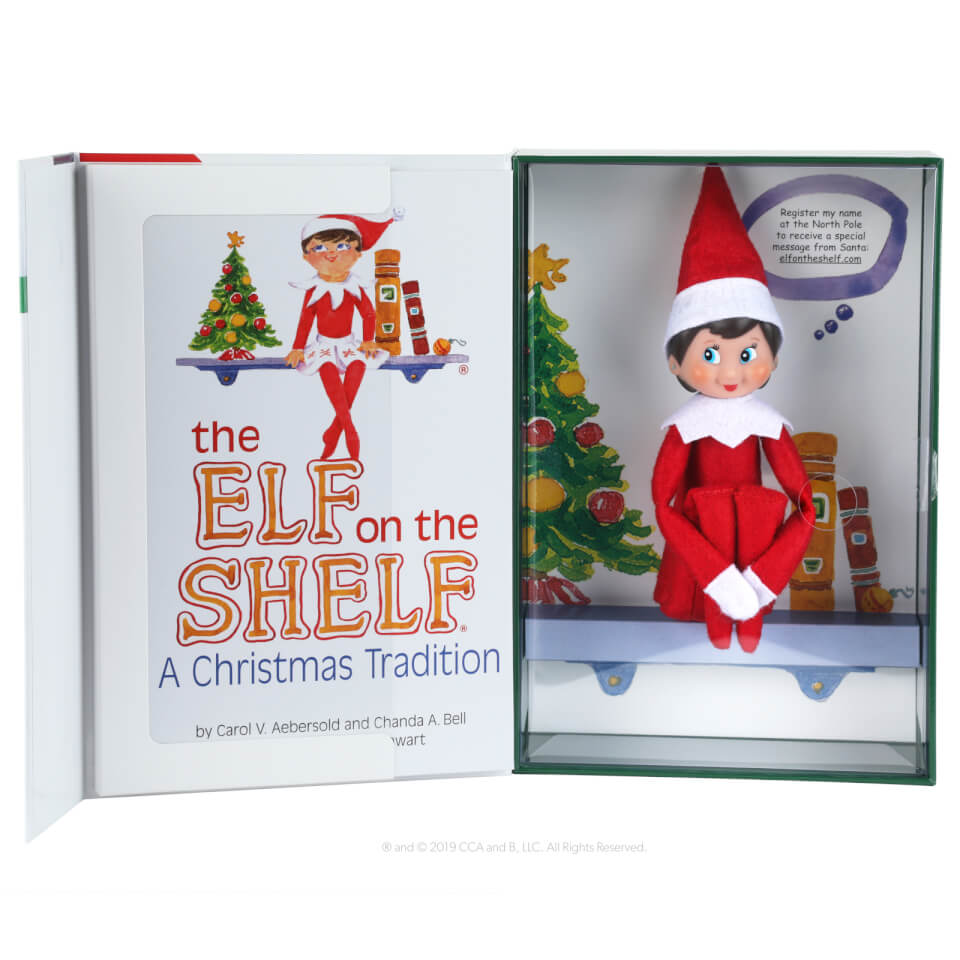 - The Elf on the Shelf A Christmas Tradition (Mädel) - Onlineshop Sowas Will Ich Auch