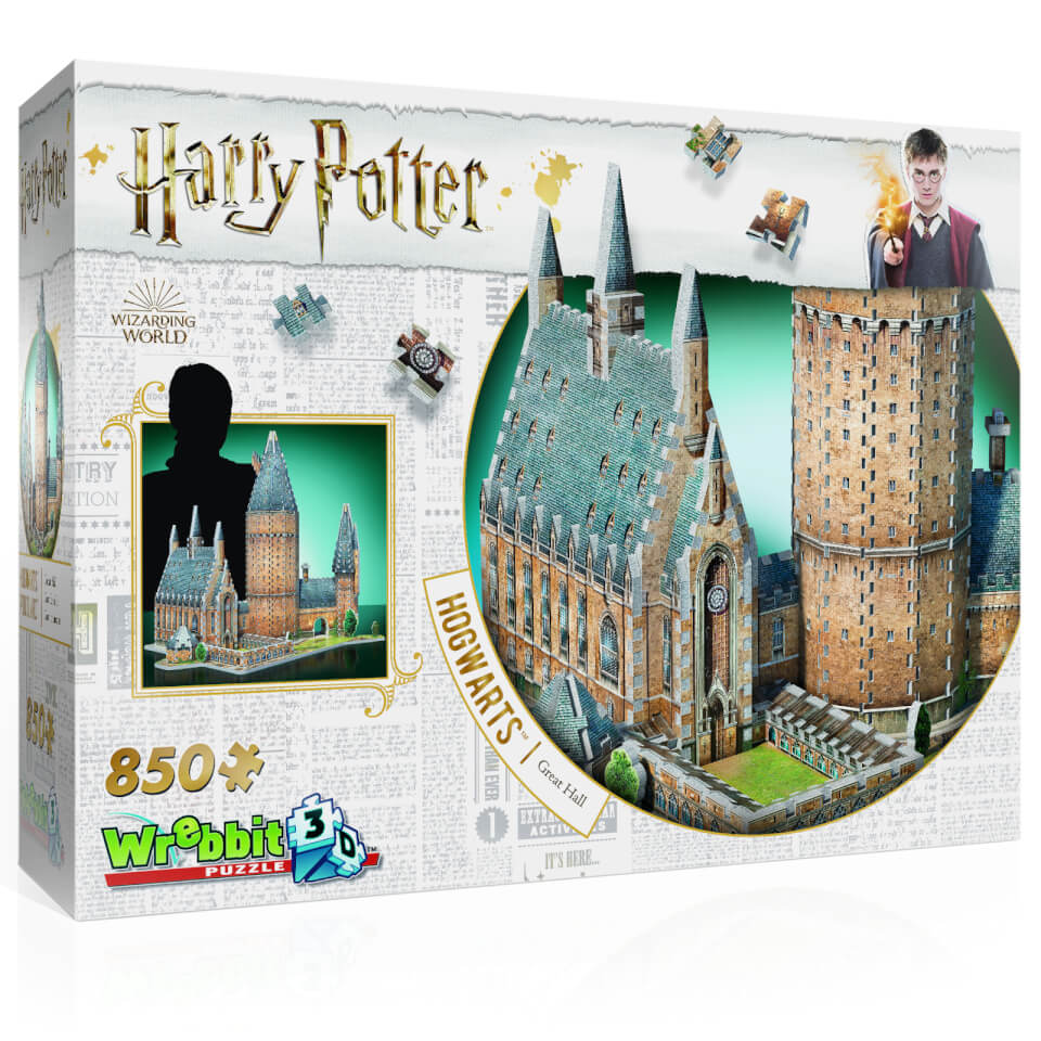 Harry Potter Hogwarts Great Hall 3D Puzzle (850 Stücke)