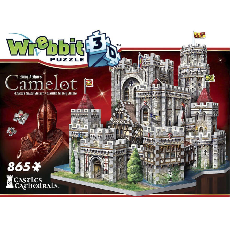 Wrebbit Schloss Camelot 3D Puzzle (865 Stücke)