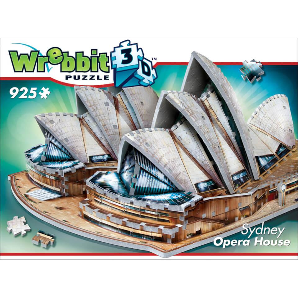 Wrebbit Sydney Opera House 3D Puzzle (925 Stücke)