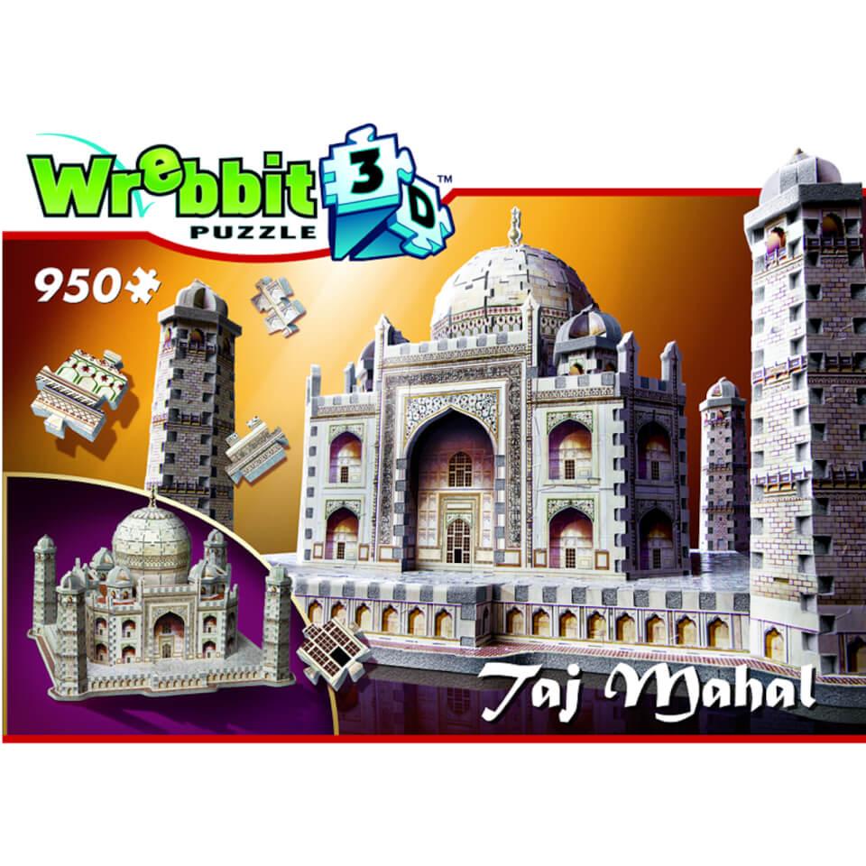 Ausgefallenkreatives - Wrebbit Taj Mahal 3d Puzzle (950 Stücke) - Onlineshop Sowas Will Ich Auch