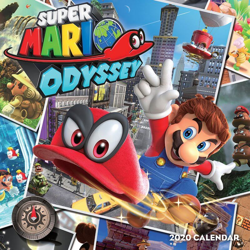 Games Coming Out In October 2020.Super Mario Odyssey Calendar 2020