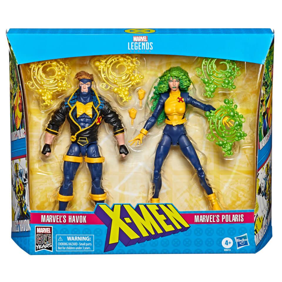 Hasbro Marvel Legends Series 6-inch Collectible Action Figures X-Men (2-Pack)