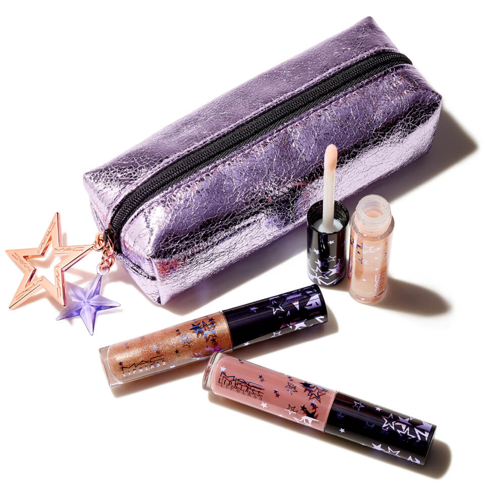 MAC Lucky Stars Lip Gloss Kit – Nude