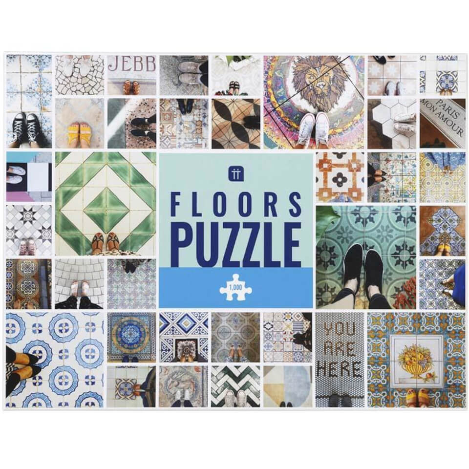 Worldly Wise Floors Puzzle 1000 Piece