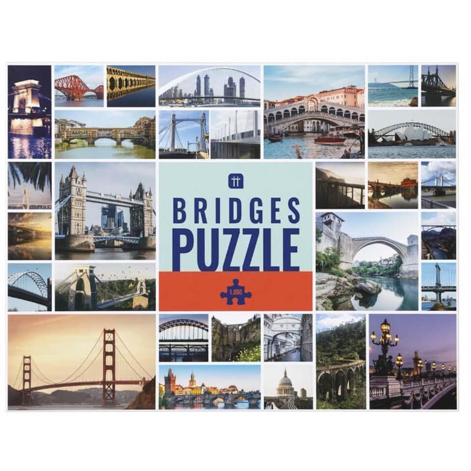 Worldly Wise Bridges Puzzle 1000 Piece