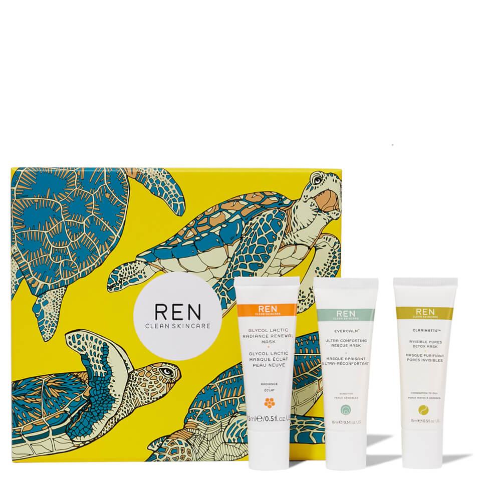 Ren Clean Mask Trio by Look Fantastic