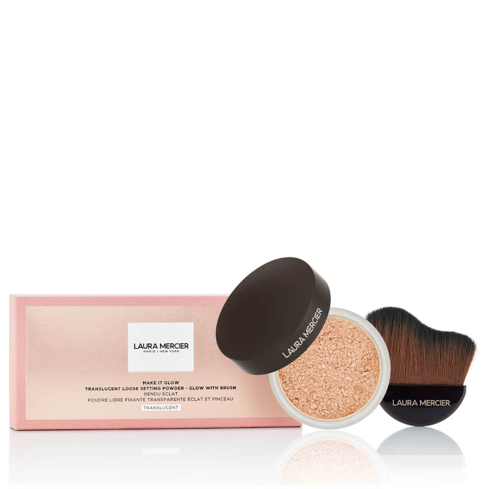 Laura Mercier Make it Glow Powder and Brush