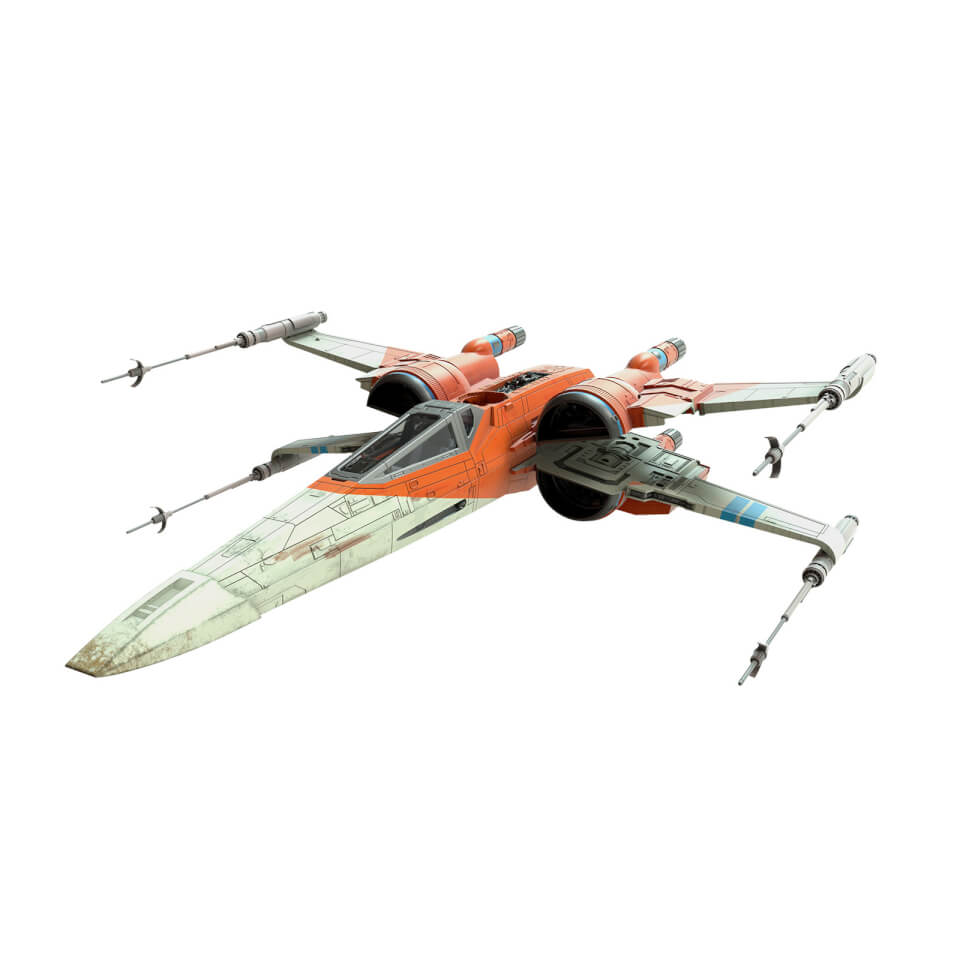 Hasbro Star Wars The Vintage Collection Star Wars: The Rise of Skywalker Poe Dameron's X-Wing Fighter Toy Vehicle