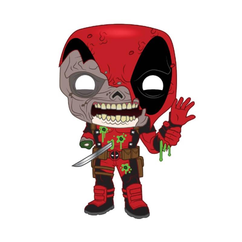 Keychain Funko Pop Deadpool Marvel Zombies