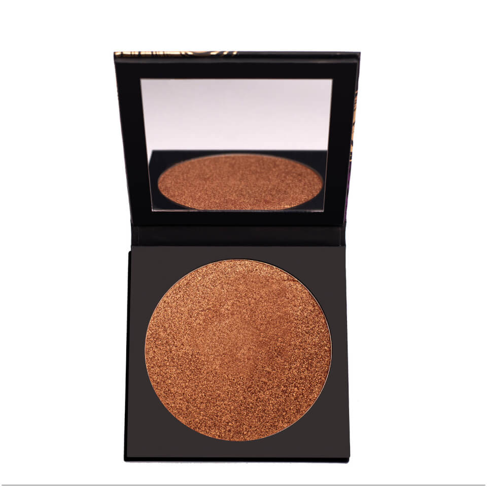 Black magic carnival bronze and highlighter