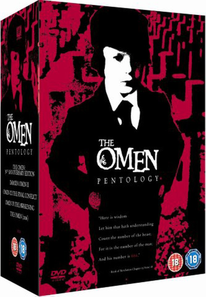 The Omen Complete Box Set Dvd Zavvi
