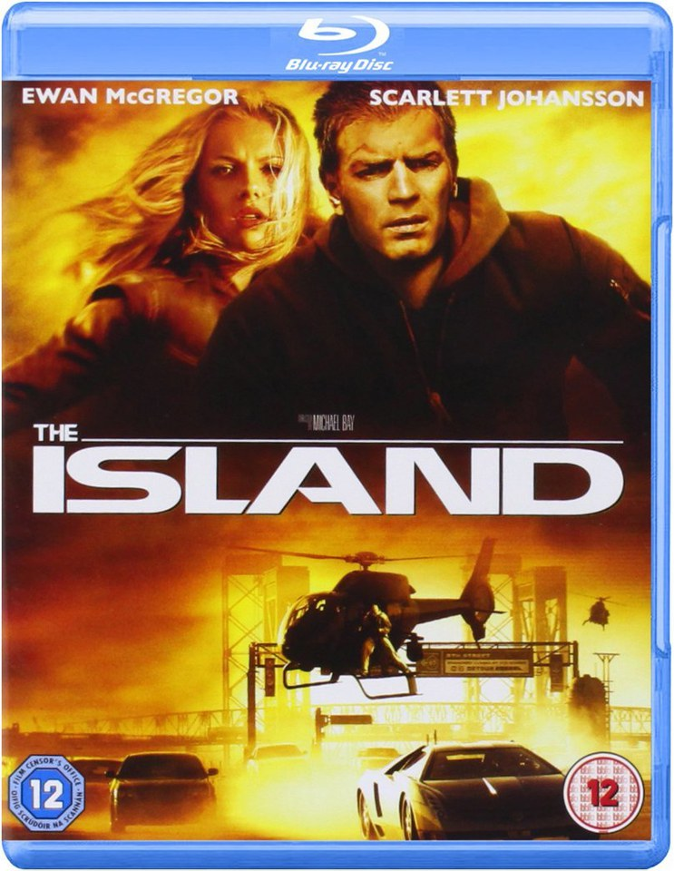 The Island Blu Ray Zavvi