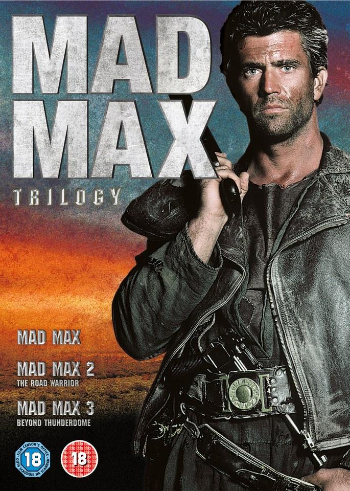 mad max trilogy mad max mad max 2 mad max beyond dvd. Black Bedroom Furniture Sets. Home Design Ideas