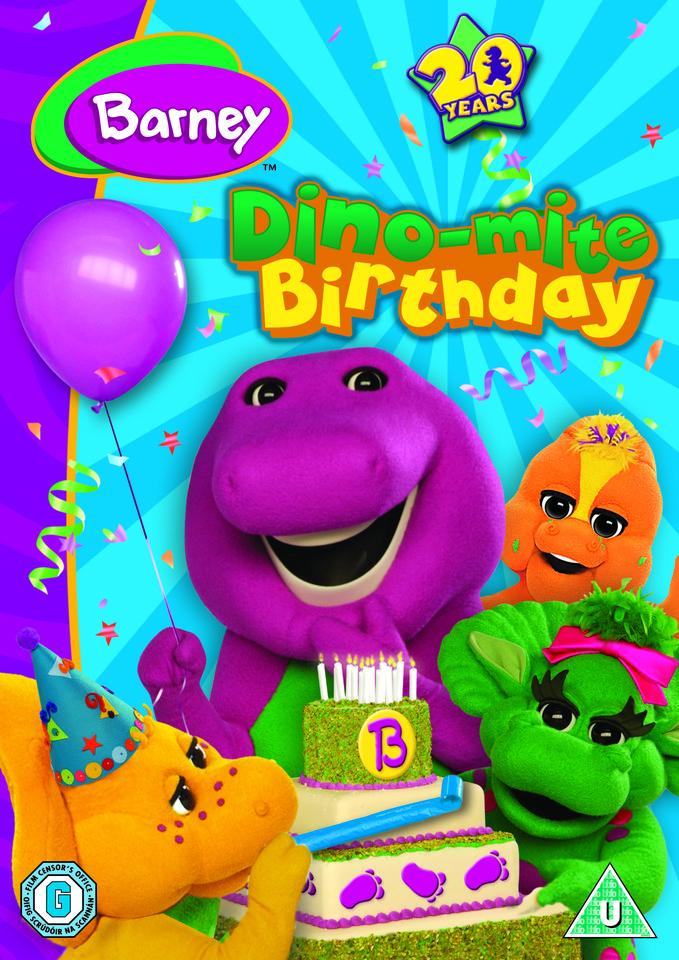 Barney Dino Mite Birthday Dvd Zavvi