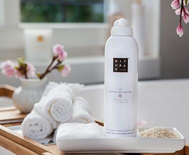 Rituals shower gel, body & hand cream