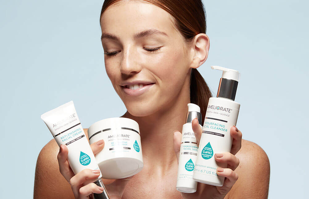 New Ameliorate skincare is here shop now