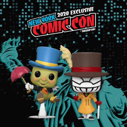 The latest Funko Comic Con Exclusives - Emerald City, San Diego, New York and more!
