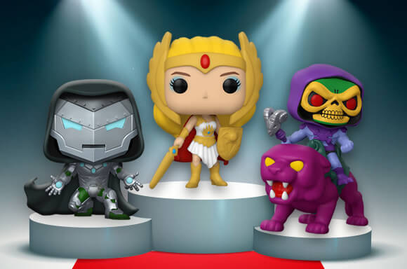 <br>🥇Classic She Ra!🥇<br><br>🥈Infamous Ironman!🥈 <br><br>🥉Skeletor on Panthor!🥉