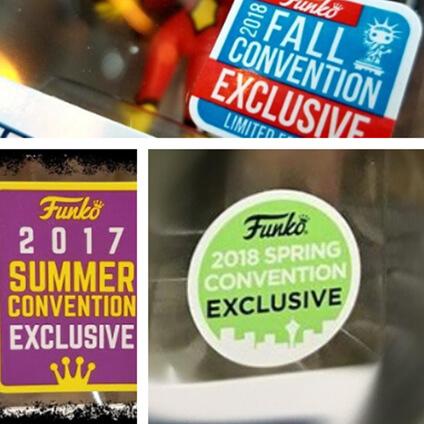 Los últimos Funko Pop! Exclusivos de las Comic  - Emerald City, San Diego, New York ¡Y muchas más!