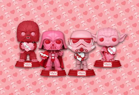 Star Wars Valentines Funko Pops