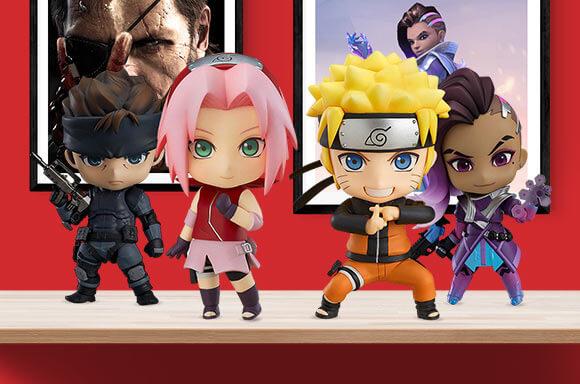 Naruto, DC Comics, Marvel, Overwatch und viele mehr