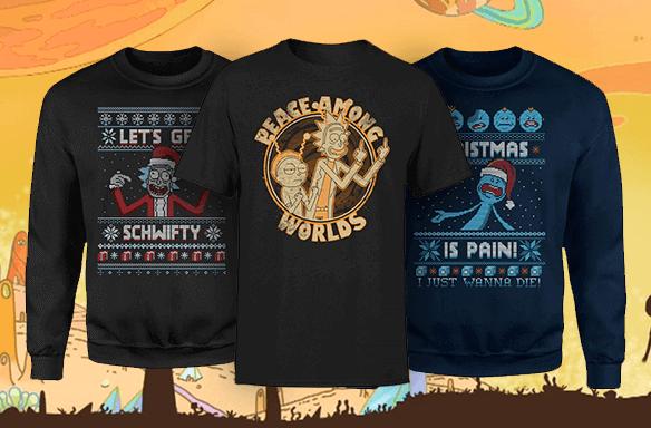 Gratis T-Shirt mit Weihnachtspullover