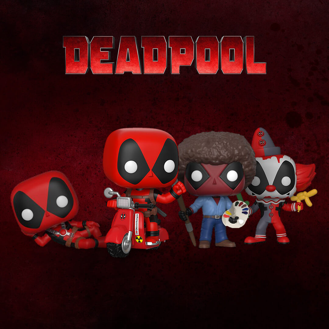 DEADPOOL | 5 NEUE POPS