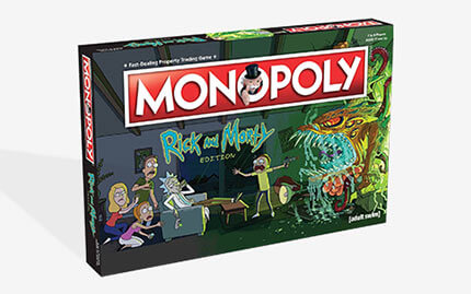 Rick and Morty Games!