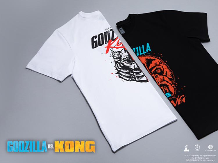 Kong Vs Godzilla T-Shirts