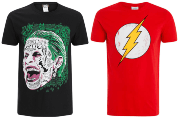 2 for £20 T-shirts