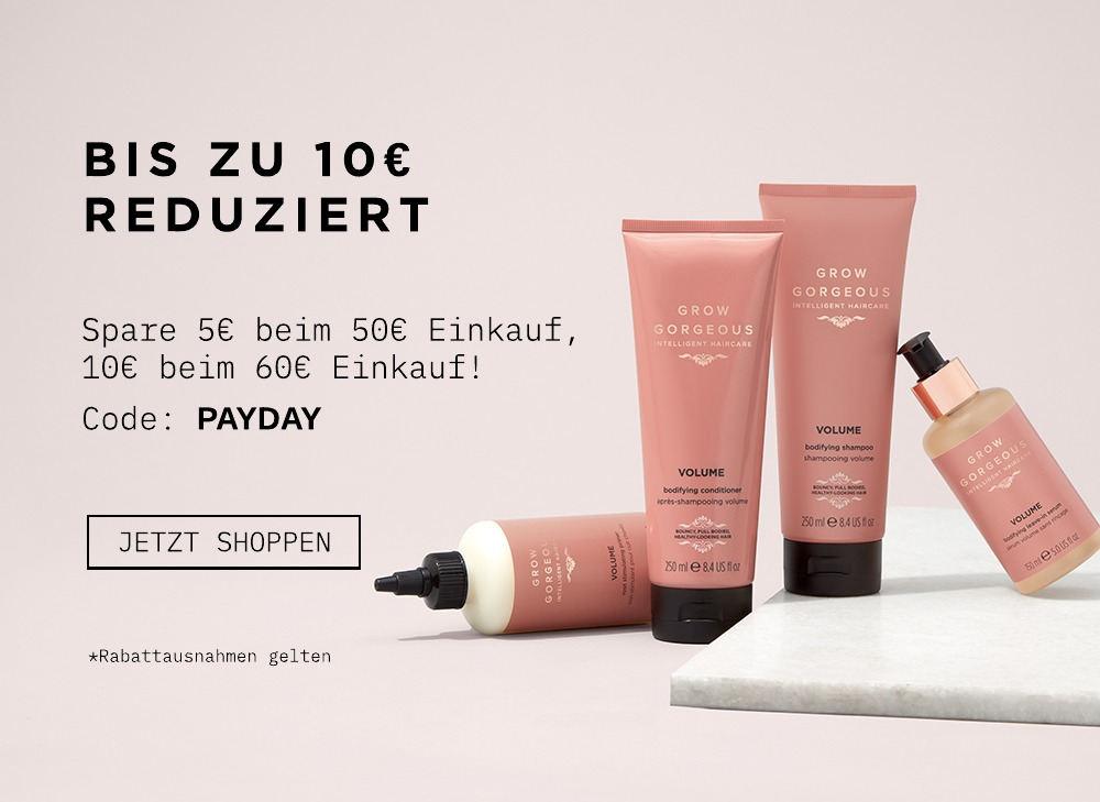 Spare 5€ beim 50€ Einkauf, 10€ bim 60€ Einkauf. Code: PAYDAY