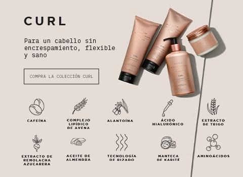 Ingredientes colección Curl Grow Gorgeous