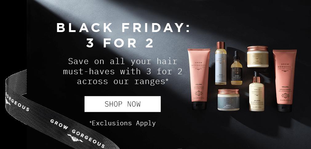 Black Friday Savings: 3 FOR 2
