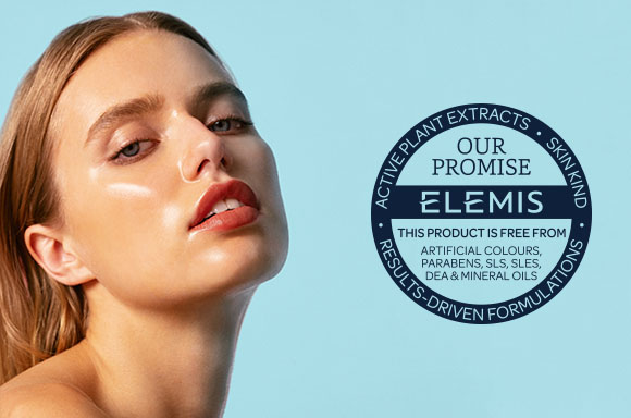 Elemis products, free from artifical ingredients