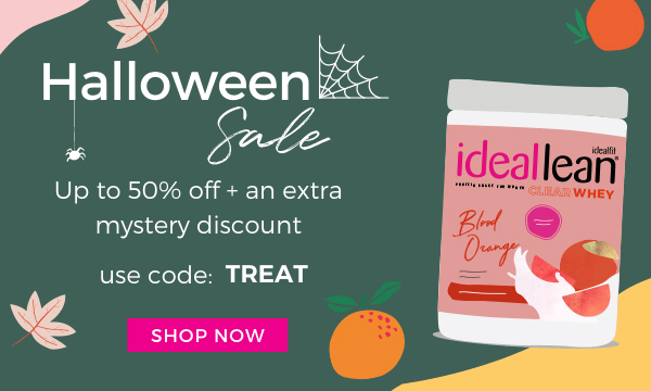 up to 50% off + mystery discount with code: TREAT