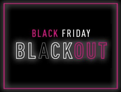 Black Friday Blackout