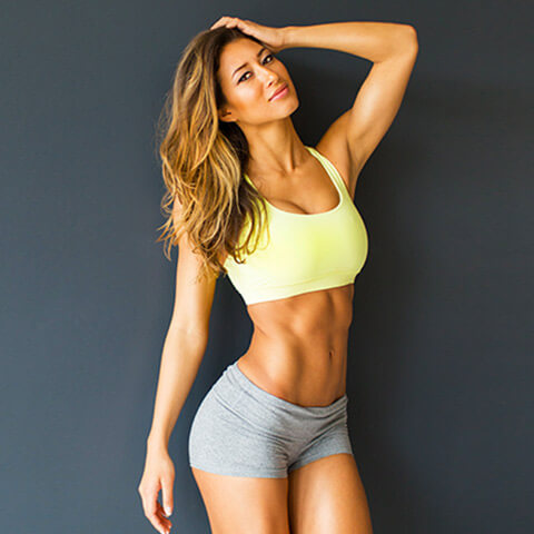 Karina a women fitness model
