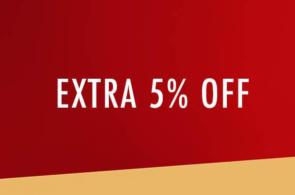 Extra 5%