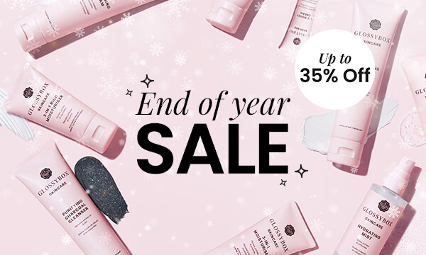 GLOSSYBOX Skincare End of Year Sale