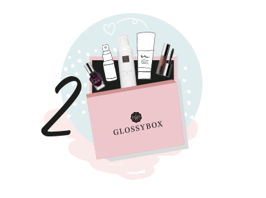 RECEIVE YOUR GLOSSYBOX